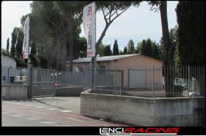 Entrata Lenci Racing - Via di Casal Boccone, 259